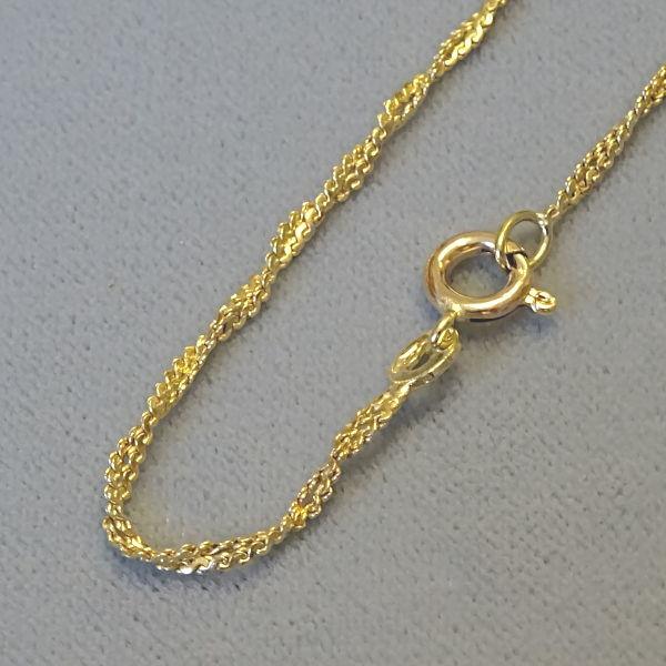 # 120141  Kettchen in 585-Gold