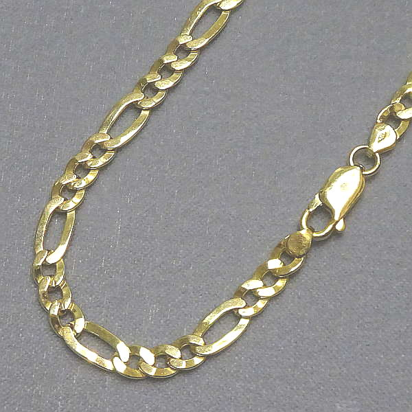 130129 Figarokette in 333-Gold, Schmuck gebraucht, Second Hand / Goldschmiede Karl Spörl in Hof/Saale