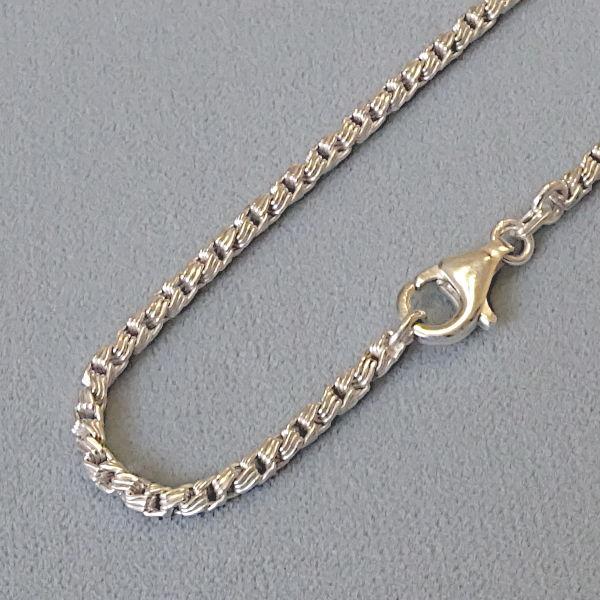 # 130174  Rundkette in Silber
