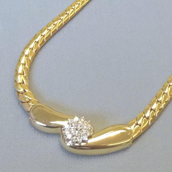 # 132154  Kette / Mittelteil in 585-Gold