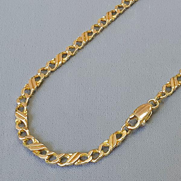 150178 Herrenkette in 585-Gold, Schmuck gebraucht, Second Hand / Goldschmiede Karl Spörl in Hof/Saale