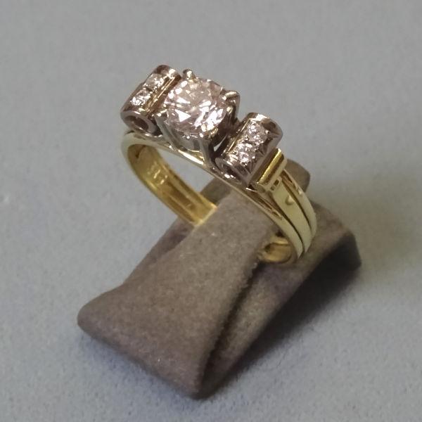 # 210205  Damenring in 585-Gold