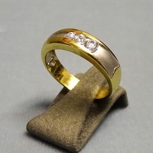210212 Damenring in 333-Gold, Schmuck gebraucht, Second Hand / Goldschmiede Karl Spörl in Hof/Saale
