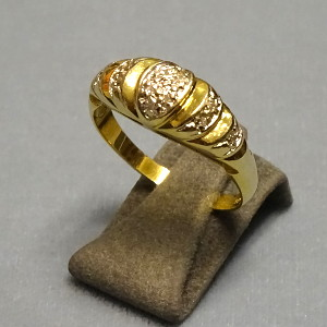 # 210215  Damenring in 333-Gold