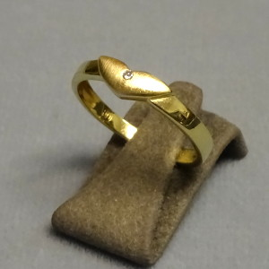 # 210220  Damenring in 585-Gold