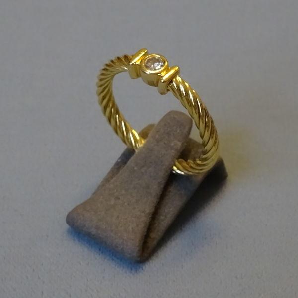 # 210224  Damenring in 750-Gold