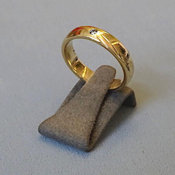 210231 Damenring in 585-Gold, Schmuck gebraucht, Second Hand / Goldschmiede Karl Spörl in Hof/Saale