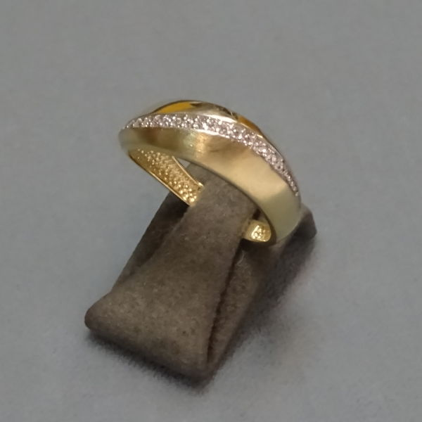 210246 Damenring in 585-Gold, Schmuck gebraucht, Second Hand / Goldschmiede Karl Spörl in Hof/Saale