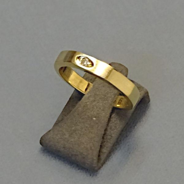 # 210253  Damenring in 585-Gold