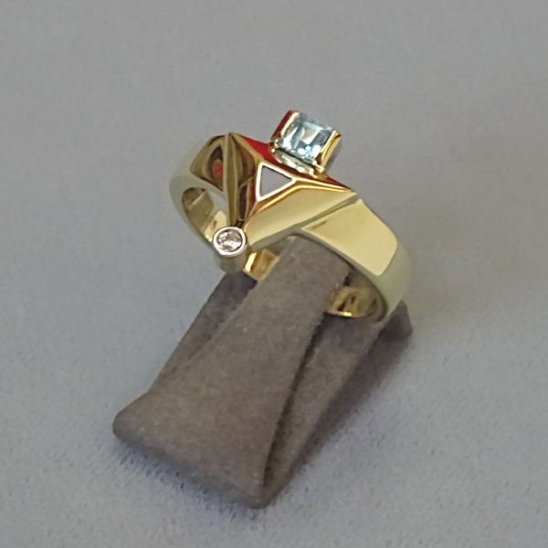 # 210274  Damenring in 585-Gold