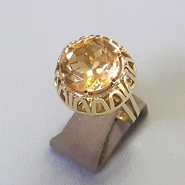 210275 Damenring in 585-Gold, Schmuck gebraucht, Second Hand / Goldschmiede Karl Spörl in Hof/Saale