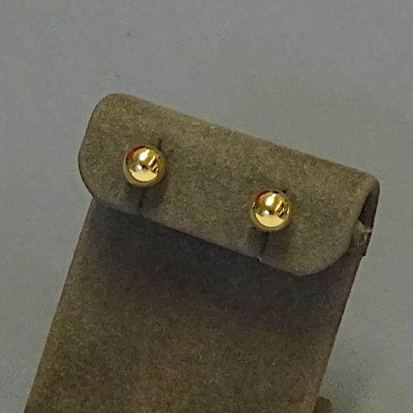 310325  Ohrstecker in 333-Gold, Schmuck gebraucht, Second Hand / Goldschmiede Karl Spörl in Hof/Saale