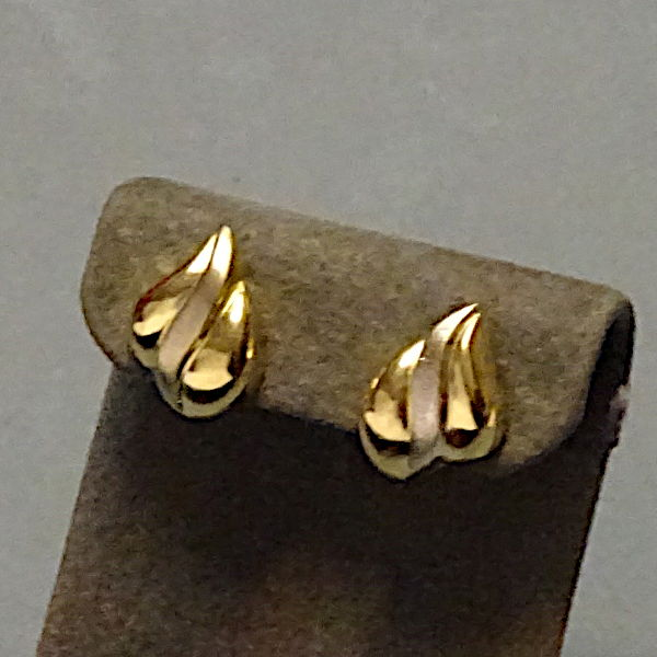 # 310332  Ohrstecker in 333-Gold