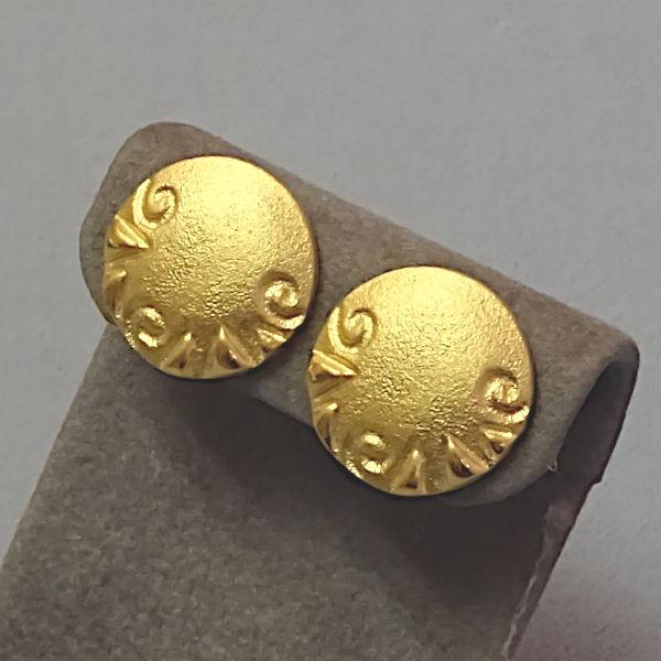 310342  Ohrstecker aus Set in 990-Gold, Schmuck gebraucht, Second Hand / Goldschmiede Karl Spörl in Hof/Saale