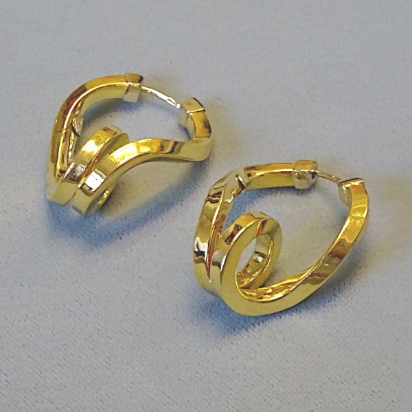 # 355306  Scharniercreolen in 750-Gold