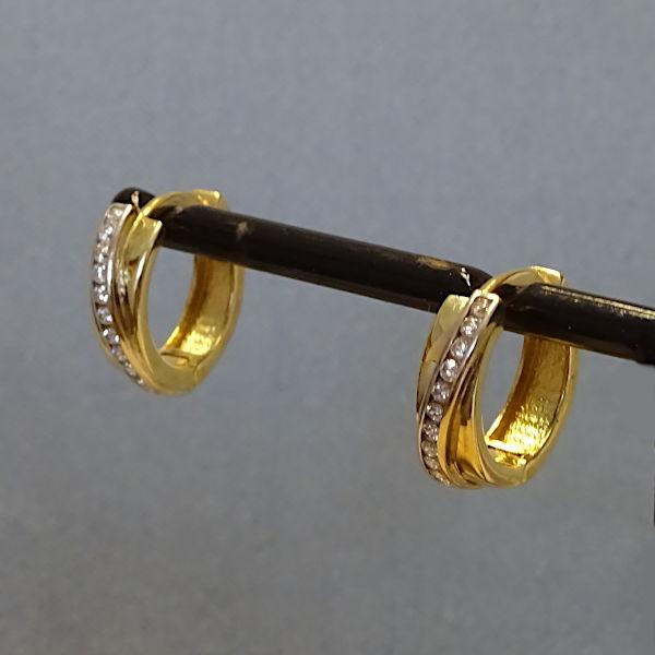 # 355307  Scharniercreolen in 333-Gold