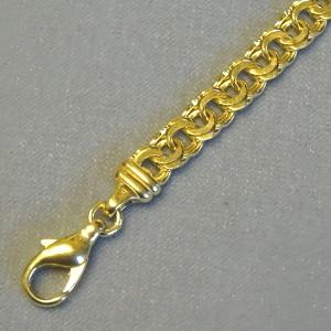 430408 schmales Band / Armkette in 333-Gold, Schmuck gebraucht, Second Hand / Goldschmiede Karl Spörl in Hof/Saale