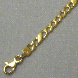 430412 Bändchen / Armkette in 333-Gold, Schmuck gebraucht, Second Hand / Goldschmiede Karl Spörl in Hof/Saale