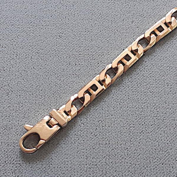 430414 Bändchen / Armkette in 585-Gold, Schmuck gebraucht, Second Hand / Goldschmiede Karl Spörl in Hof/Saale