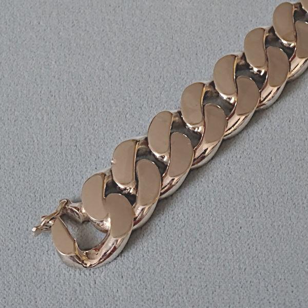430472  Armkette in Silber, Schmuck gebraucht, Second Hand / Goldschmiede Karl Spörl in Hof/Saale