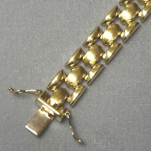 # 450416  Band in 333-Gold