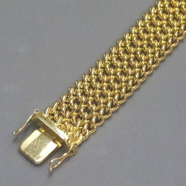 450453  Armband in 333-Gold, Schmuck gebraucht, Second Hand / Goldschmiede Karl Spörl in Hof/Saale