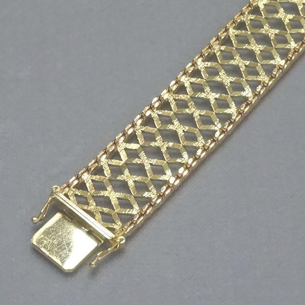 450454  Armband in 333-Gold, Schmuck gebraucht, Second Hand / Goldschmiede Karl Spörl in Hof/Saale