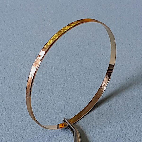 490401 Armreif in 750-Gold, Schmuck gebraucht, Second Hand / Goldschmiede Karl Spörl in Hof/Saale
