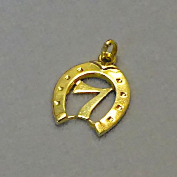 # 600642  Glücksanhänger in 585-Gold