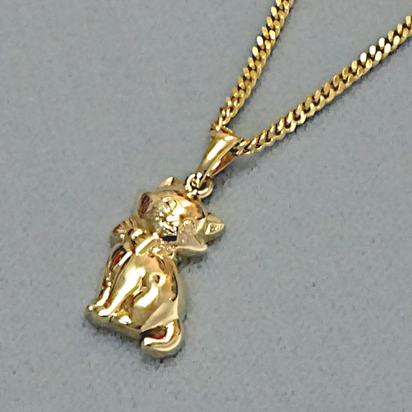 670610  Motivanhänger in 333-Gold, Schmuck gebraucht, Second Hand / Goldschmiede Karl Spörl in Hof/Saale