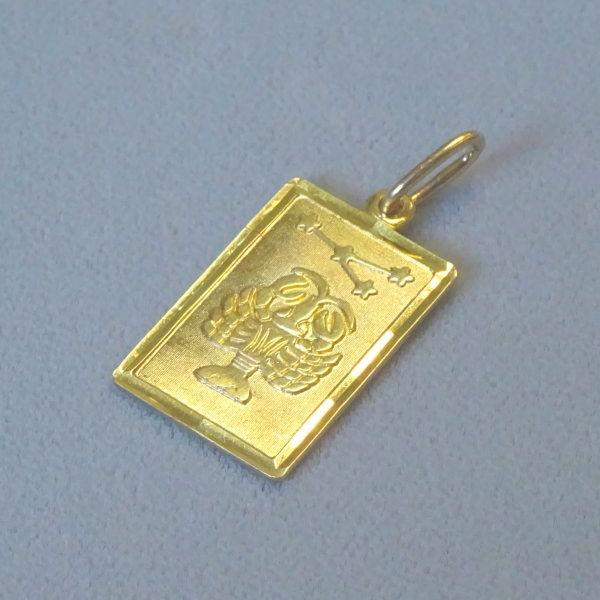 690403  Tierkreiszeichen in 333-Gold, Schmuck gebraucht, Second Hand / Goldschmiede Karl Spörl in Hof/Saale
