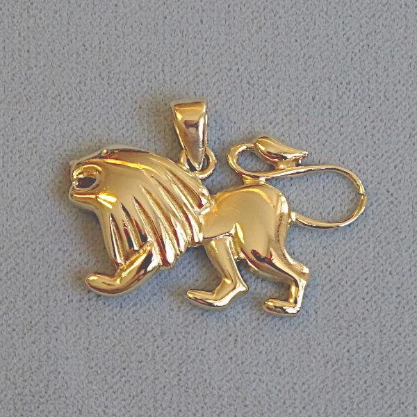 690505 Tierkreiszeichen in 585-Gold, Schmuck gebraucht, Second Hand / Goldschmiede Karl Spörl in Hof/Saale