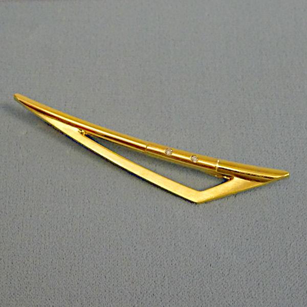 # 790904  Krawattenhalter in 333-Gold